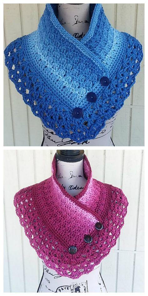 Pam's Ombre Shawl Crochet