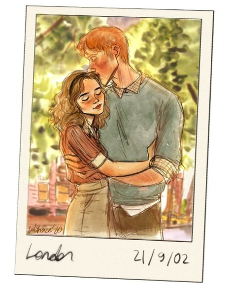 Harry Potter Illustrations, Harry Potter Artwork, Harry Potter Ships, Harry Potter Drawings, Harry Potter Fandom, Harry Potter World, Harry Potter Memes, Ron And Hermione, Harry Potter Collection