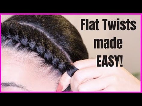 How To Get The Perfect Flat Twist Out demonstrates how to achieve a beautiful wavy style for your natural hair Flat Twist Out, Natural Hair Flat Twist, Flat Twist Styles, Flat Twist Updo, Natural Hair Braids, Twist Outs, Natural Curls, Cornrow Hairstyles Natural Hair, Short Hair Twist Out