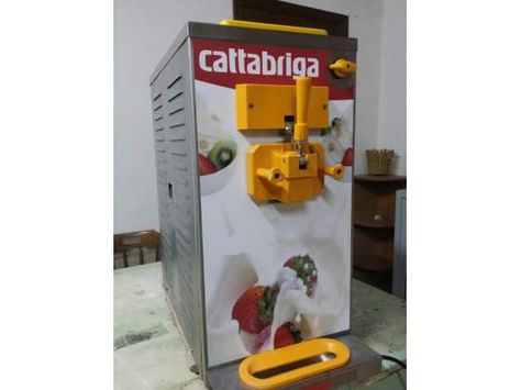 Ricetta Yogurt Per Macchina Soft.Macchina Per Gelato Soft Cattabriga Gelato Kitchen Appliances Popcorn Maker