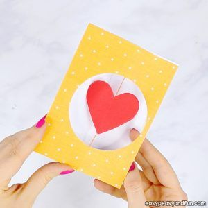 3d Heart Flower Card With Flower Template Valentines And Mother S Day Craft Idea Valentine S Cards For Kids Valentine Cards Handmade Valentine Crafts For Kids