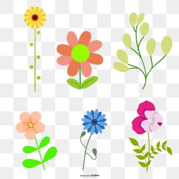 Vector Flowers Spring Flowers Cartoon Flower Flowers Vector Png Transparent Clipart Image And Psd File For Free Download Cartoon Flowers Spring Flowers Vector Flowers