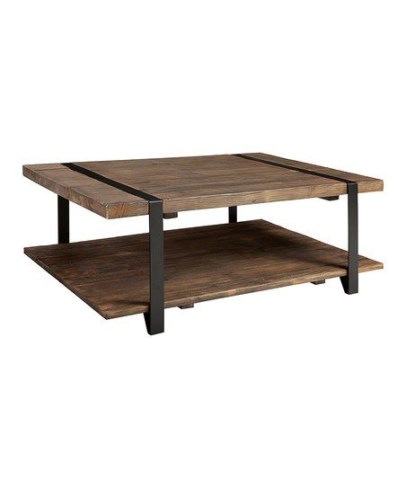 Alaterre Collection Modesto Reclaimed Wood 48 Coffee Table