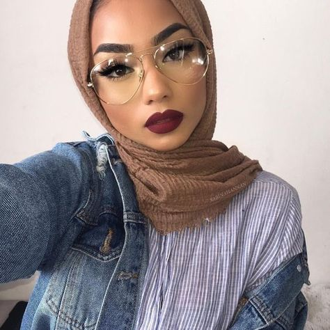 Bien porter le hijab avec les lunettes - hats for women