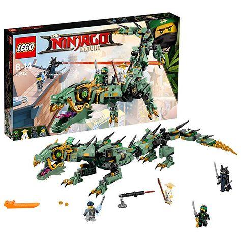 Lego Ninjago 70612 Mech Drache Des Grunen Ninja Lego Spielzeug Lego Geburtstag Junge Madchen Jungen Teenie Lego Geschenk Mit Bildern Lego Ninjago Lego Geschenke Lego