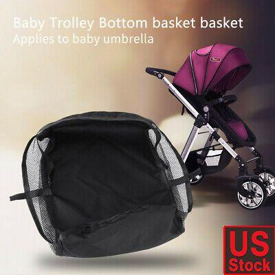 Baby Newborn Stroller Basket Stroller Hanging Basket Pram Bottom Organizer Bag