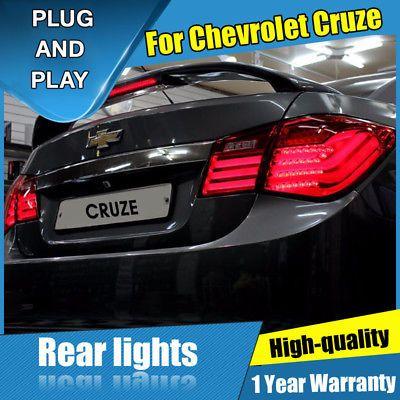 Ad Ebay For Chevrolet Cruze Dark Red Led Rear Lamp Assembly Led