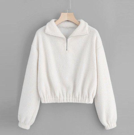 Women's Sweatshirt Long Sleeve Casual Quarter Zip Elastic Hem Sweatshirt Turndown Collar Pullover Tops Blouse Winter Hoodies #D8 | JaZola, #Blouse #Casual #Collar #Elastic #Hem #Hoodies #JaZola #Long #pullover #Quarter #Sleeve #Sweatshirt #Tops #Turndown #Winter #Womens #ZIP