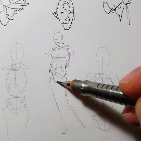 I wish I could draw that effortlessly.