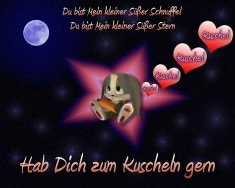 Bilder Gute Nacht Ich Hab Dich Lieb   Süße gute nacht