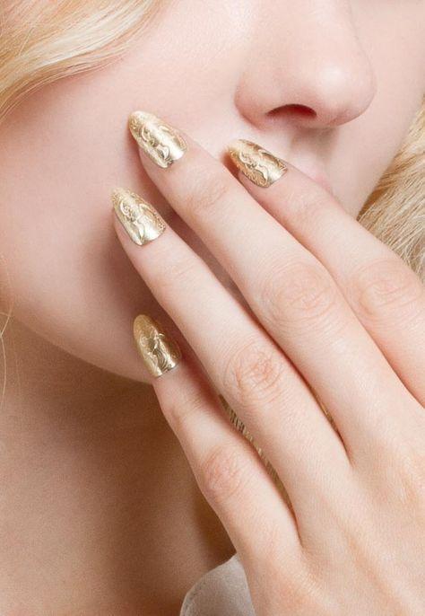 K/LLER Engraved Brass Nail