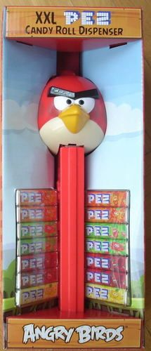 Set of 4 PEZ ANGRY BIRDS   MOC