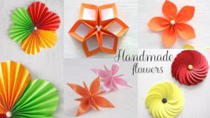 Diy Paper Flower Step By Step Making Tutorials K4 Craft Paper