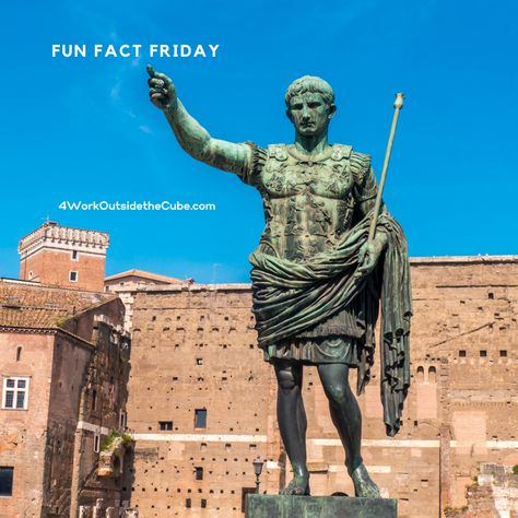 Julius Caesar added the 31st day to the month and completed it to the full month of January; we practice now! #Funfact #FridayFunDay #frederkinggroup #virtualexpert #socialmediamanagement #socialmediaexpert #socialmediaconsultant #socialmediastrategy