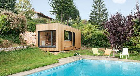 une pièce en plus : construire un atelier dans le jardin