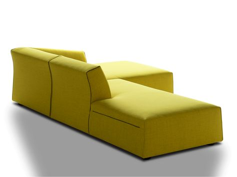 SECTIONAL FABRIC SOFA THEA BY MDF ITALIA DESIGN LINA OBREGON - chaiselongue design moon lina moebel