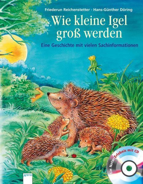 Wie Kleine Igel Gross Werden Igel Fisch Geschichten Bilderbucher Fur Kinder