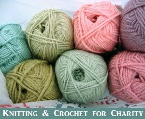 Knitting and Crocheting for Charity