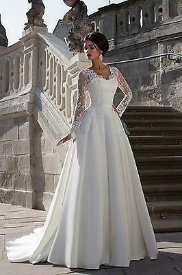 Picture 2 Of 7 Wedding Dress Sleeves Satin Bridal Gowns Wedding Dresses Satin
