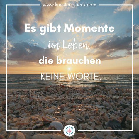Die schönsten Sprüche über das Meer findest Du auf www.kuestenglueck.com