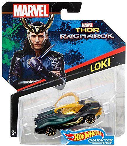 Hot Wheels 2017 Marvel THOR RAGNAROK LOKI