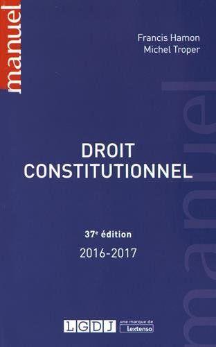 Droit Constitutionnel Francai Etude De Livre Numerique Electronique Methodologie La Dissertation Juridique Pdf