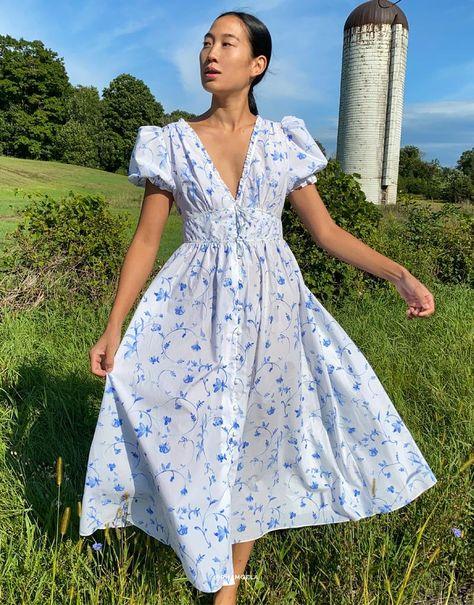 Casual Dresses, Fashion Dresses, Summer Dresses, Vintage Dresses, Vintage Outfits, Vintage Looking Dresses, Romantic Outfit, Romantic Dresses, Fairytale Dress
