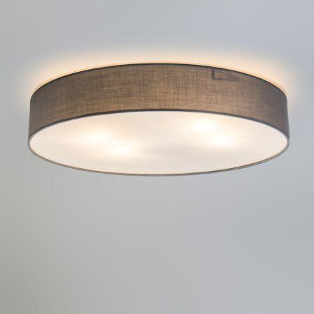 Deckenleuchte Drum Eco 60 grau #Deckenlampe #Lampe - led wohnzimmer deckenleuchte