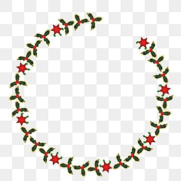 Luxury Round Frame Made Holly Leaves And Berrys Holly Leaves New Cristmas Frame Png And Vector With Transparent Background For Free Download Holly Leaf Wedding Frames Flower Frame