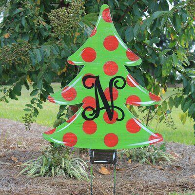 Southern Steel Designs Christmas Tree Yard Garden Stake Wayfair Ca In 2020 Christmas Decorations Diy Outdoor Christmas Cutouts Christmas Tree Painting