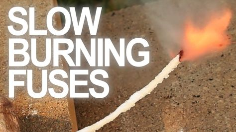 How to make a slow burning fuse video | 9 Kickass Booby Traps to Rig Your Homestead #survivallife www.survivallife.com