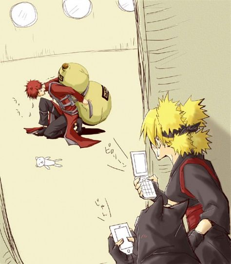 Gaara, Temari and Kankuro