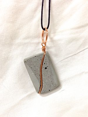 Concrete Jewelry - Copper by Concrete Curio