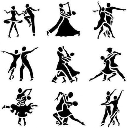 Schlanker tanzender moderner Bachata