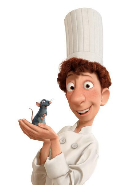 Remy And Alfredo Linguini From Ratatouille 2007 Setting 21st Century Paris France Ratatouille Disney Ratatouille Movie Pixar Characters