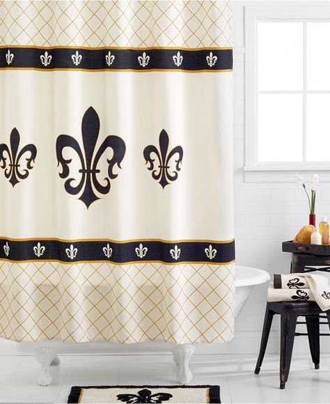 Avanti Fleur De Lis Hand Towel Bedding Diy Bathroom Decor