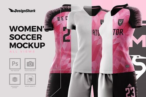 Download 8 Mockups Ideas Mockup Soccer Kits Womens Soccer