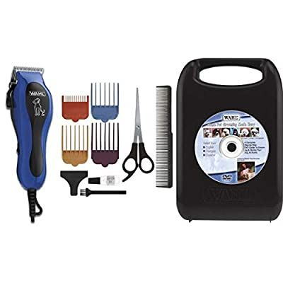 Wahl U Clip 09281 Pet Deluxe Corded Clipper Kit With Adjustable Clipper 4 Attachment Combs Deluxe Accessory Ki In 2020 Dog Grooming Clippers Dog Grooming Dog Clippers