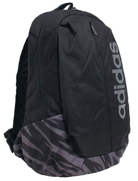 official photos ad458 68deb Adidas LOGO ZIPPER Backpack Bags Sports Black School Casual Unisex Bag  CF6842  fashion  clothing  shoes  accessories  unisexclothingshoesaccs ...