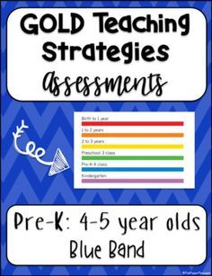 Gold Teaching Strategies Assessments Pre K By The Poppin Pineapple Teache Teaching Strategies Teaching Strategies Gold Objectives Teaching Strategies Gold