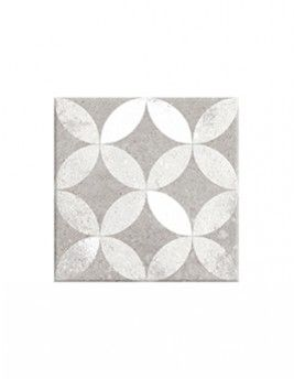 Carrelage Epoque Aspect Carreau Ciment Gris Dim 20 X 20 Cm Saint Maclou Carreaux Ciment Ciment Carrelage