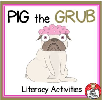 Aaron Blabey Pig The Grub Literacy Activities Literature