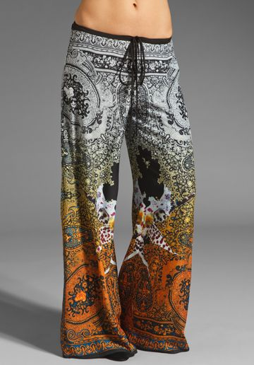 Clover Canyon Ombre Paisley Pant in Multi