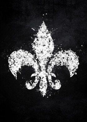 saints row video game gaming splat splatter white black symbol logo grunge distressed series fandom