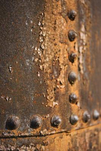 How To Fix Pitting In Metal Before Painting Rusted Metal Iron Rust Metal