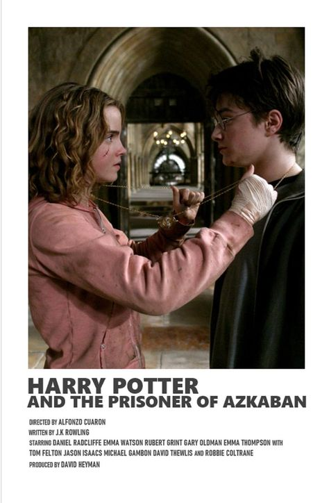 Harry Potter Prisoner of Azkaban minimal A6 movie poster