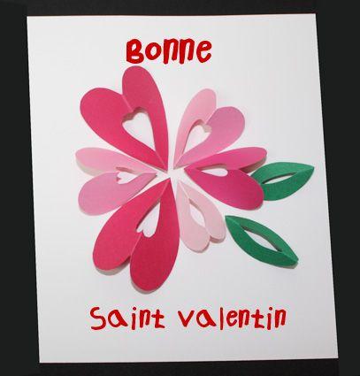 Carte Coeurs En Fleur Bon Pour La Saint Valentin Valentines