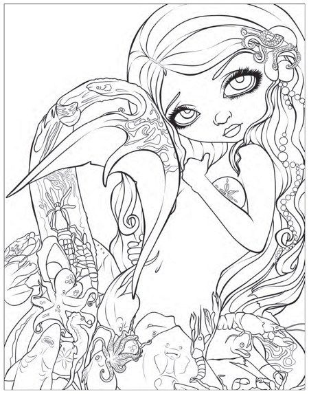 Best Mermaid Coloring Pages Coloring Books Mermaid Coloring Pages Mermaid Coloring Book Cartoon Coloring Pages