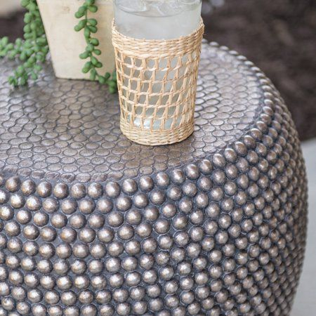 Awe Inspiring Belham Living Moroccan Global Beaded Garden Stool Image 2 Of Gmtry Best Dining Table And Chair Ideas Images Gmtryco