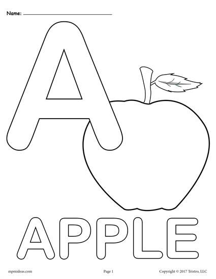 Letter A Coloring Pages 3 Printable Alphabet Coloring Pages Alphabet Coloring Pages Letter A Coloring Pages Alphabet Coloring